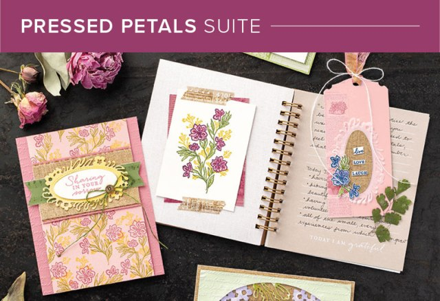 Pressed Petals, Stampin' Up!