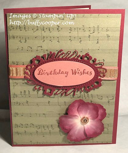Pressed Petals Suite, Stampin' Up!, Itty Bitty Birthdays