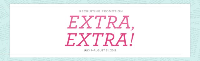 Recruiting Promotion, Stampin' Up!
