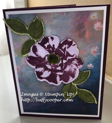 To a Wild Rose, Stampin' Up!