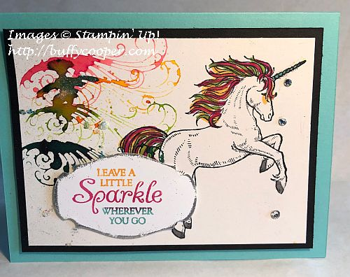 Leave a Little Sparkle, Stampin' Up!