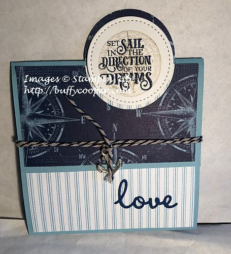 Come Sail Away Suite, Stampin' Up!, Sailing Home