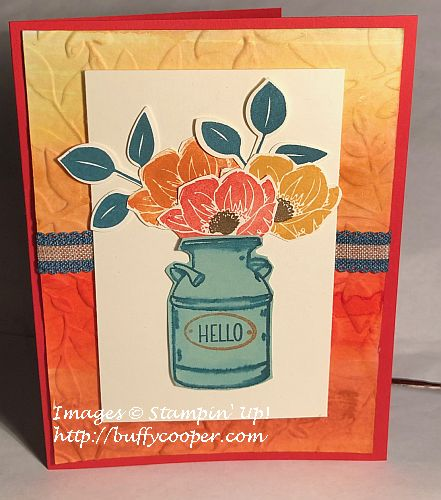 Country Home, Stampin' Up!, Floral Essence
