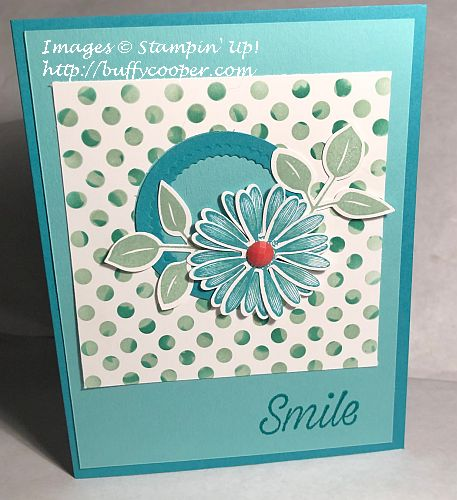 Stampin' Up!, Daisy Lane, Basic Pattern Decorative Masks