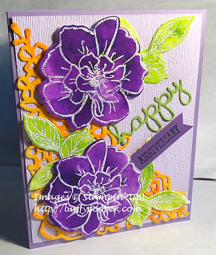 To a Wild Rose, Springtime Impressions, Stampin' Up!