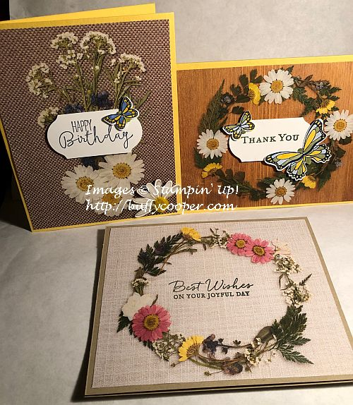 Stampin' Up!, Pressed Petals, Path of Petals, Special Celebrations