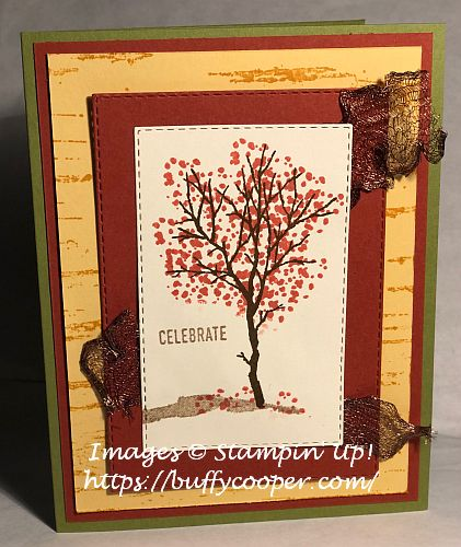 Birch, Stampin' Up!, Snow Front, Itty Bitty Greetings