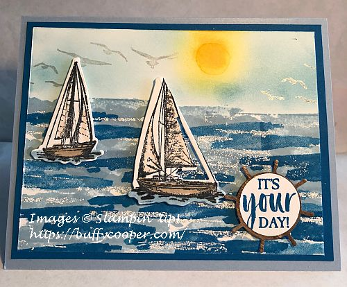 Sailing Home, High Tide, A Good Man, Birch, Waterfront, Stampin' Up!