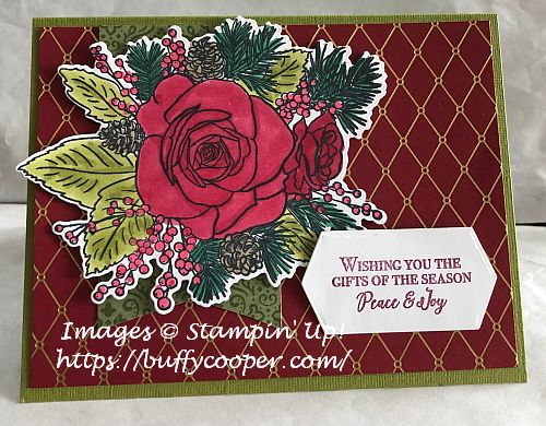Christmastime Is Here, Stampin' Up!