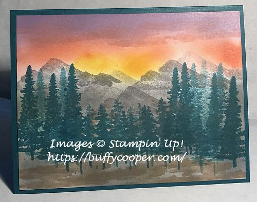 Mountain Air, Waterfront, Stampin' Up!