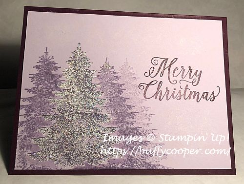 Stampin' Up!, Winter Woods, Christmas Rose