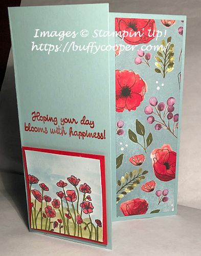 Painted Poppies, Stampin' Up!
