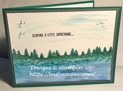 Mountain Air, Stampin' Up!, Sending You Thoughts