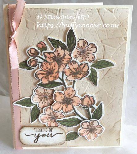 Forever Blossoms, Beautiful Moments, Stampin' Up!