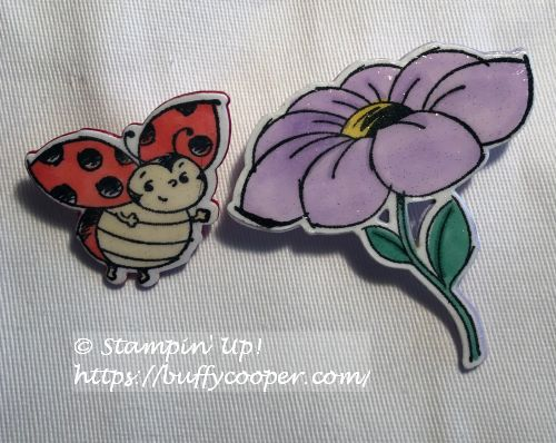 Little Ladybug, Stampin' Up!