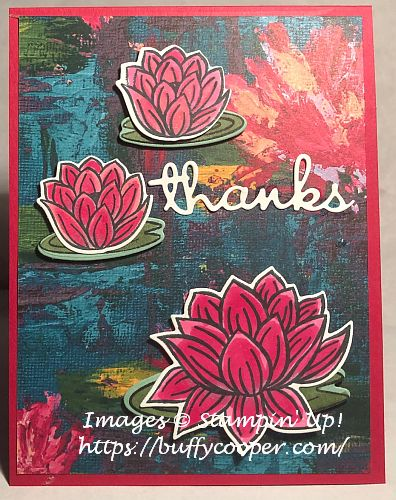 Stampin' Up!, Lovely Lily Pad, Sale-a-bration