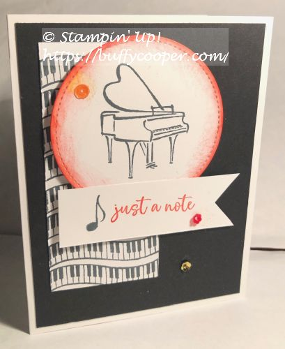 Music from the Heart, Stampin' Up!