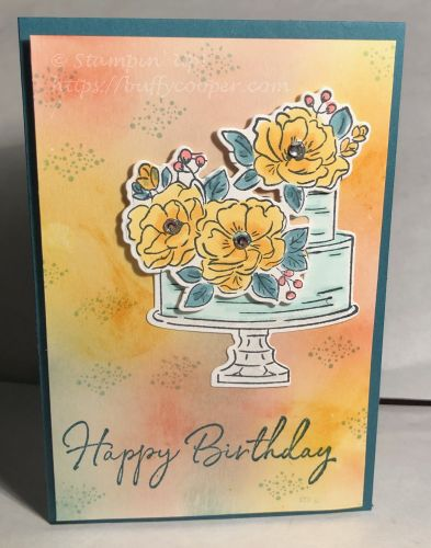 Happy Birthday to You, Stampin' Up!, Sale-a-bration