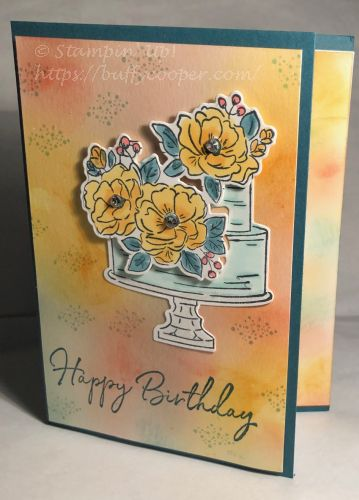 Sale-a-bration, Stampin' Up!, Happy Birthday to You