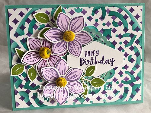 Floral Essence, Stampin' Up!, Masks