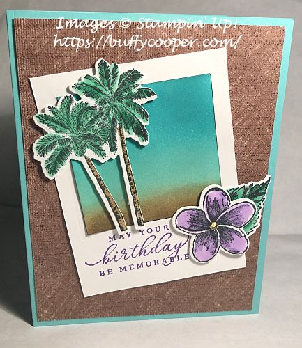 Tmeless Tropical, Stampin' Up!