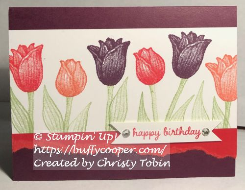 Timeless Tulips, Stampin' Up!