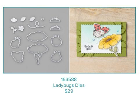 Little Ladybugs, Stampin' Up!, Sale-a-bration