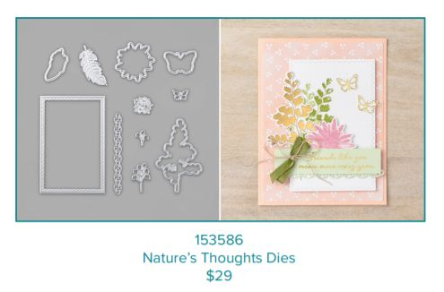 Nature's Thoughts, Positive Thoughts, Stampin' Up!, Sale-a-bration