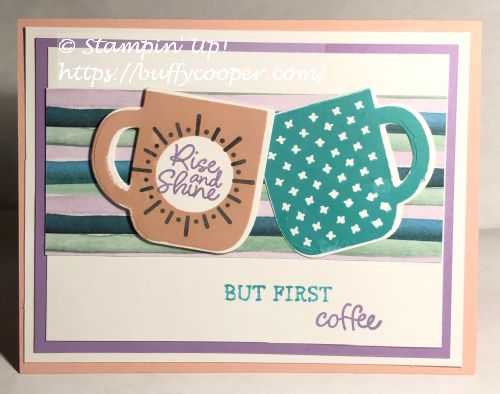 Rise & Shine, Sale-a-bration, Stampin' Up!
