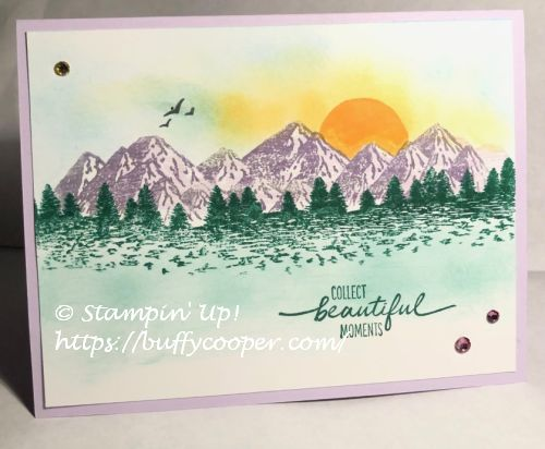 Mountain Air, Stampin' Up!