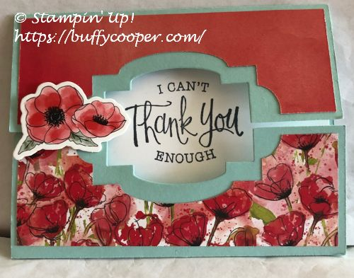 So Sentimental, Peaceful Poppies, Stampin' Up!