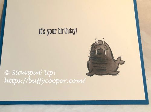 We'll Walrus Be Friends, Stampin' Up!, Birch