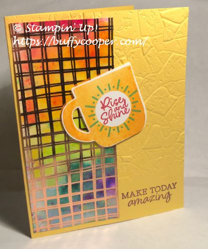 Rise & Shine, Stampin' Up!, Sale-a-bration