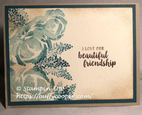 #KeepStamping, Beautiful Friendship, Stampin' Up!