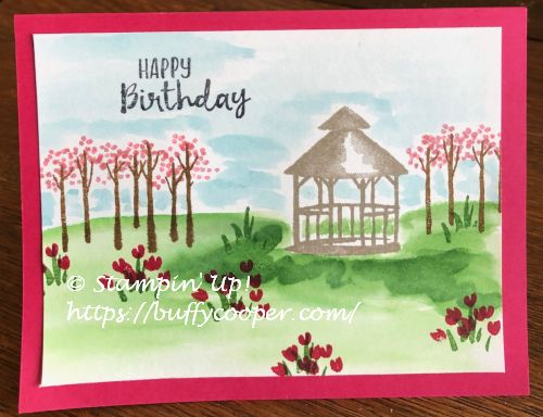 My Meadow, Stampin' Up!, Sending You Thoughts