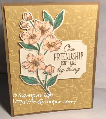 Forever Blossoms, Beauty Abounds, Stampin' Up!