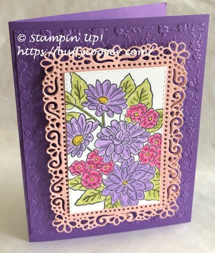 Ornate Style, Ornate Garden, Stampin' Up!, #keepstamping