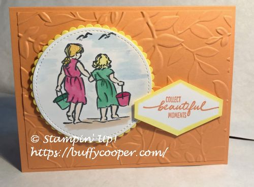 Beautiful Moments, Stampin' Up!, 2018-2020 In Colors