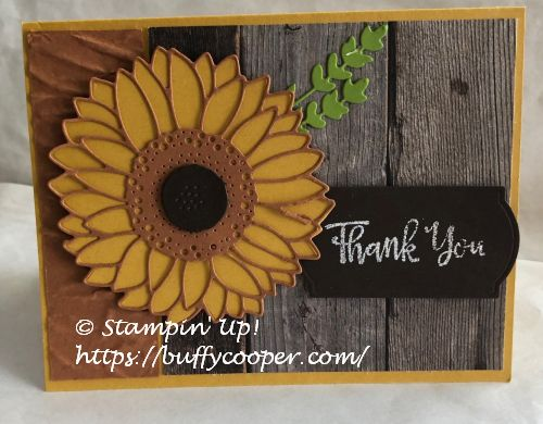 Celebrate Sunflowers, Stampin' Up!