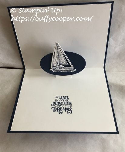 Sailing Home, Stampin' Up!, Pop-Up Cards