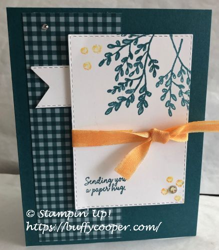 Comfort & Hope, Tasteful Touches, Stampin' Up!