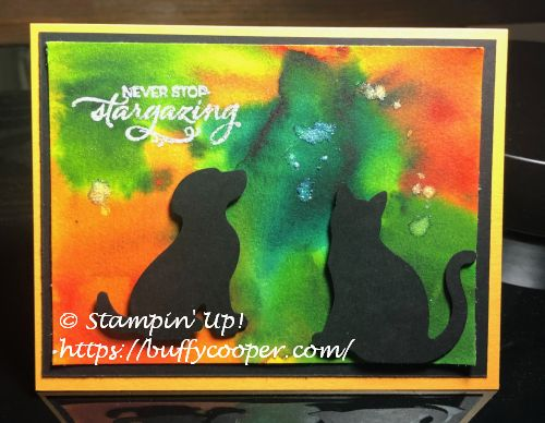 Stargazing, Stampin' Up!, Pigment Sprinkles
