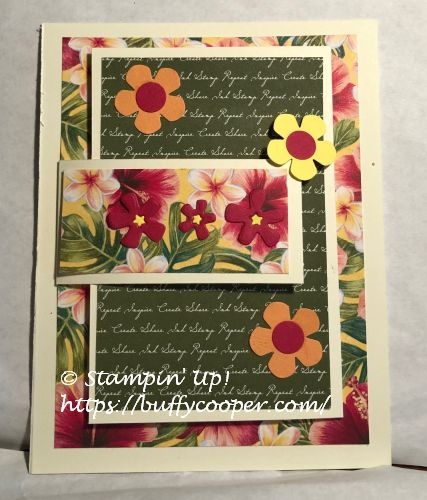 Tropical Oasis, Timeless Tropical, Stampin' Up!