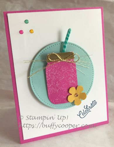 Jar Punch, Many Mates, Stampin' Up!