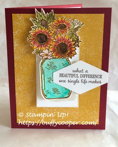 Celebrate Sunflowers, Stampin' Up!, Timeless Tulips