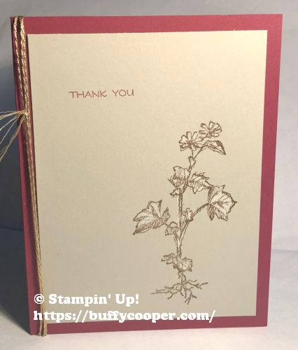 Field Journal, Stampin' Up!
