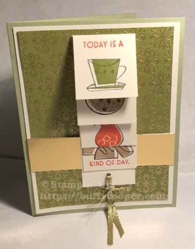 Nothing's Better Than, Stampin' Up!, Waterfall Card