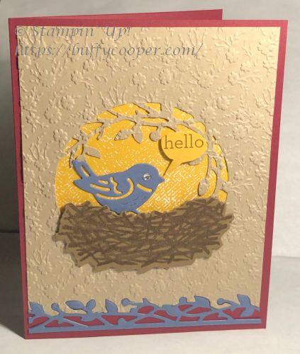 Birds & Branches, Love of Leaves, Stampin' Up!