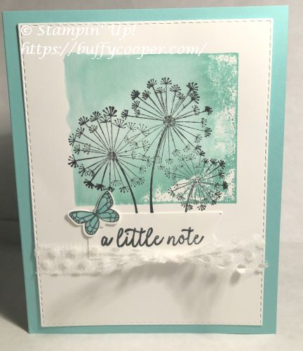 Dandelion Wishes, Beauty Abounds, Stampin' Up!