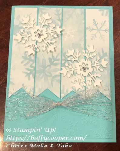 Snowflake Splendor, Snowflake Wishes, Stampin' Up!